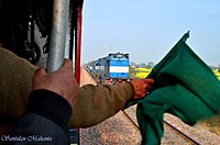Finest steam of the Indian Railway meets the finest ALCo of Indian Railway - Flickr - Dr. Santulan Mahanta.jpg