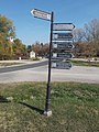 Fingerpost and listed wellhouse, 2019 Etyek.jpg
