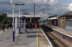 Finsbury Park station - Image: Finsbury Park station MMB 21