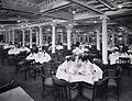 First Class Dining Room of the SS Kronprinzessin Cecilie (length view).jpg