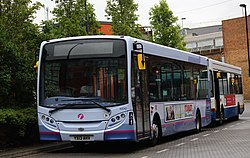 First Essex bus 44542 (YX13 AHV), 12 May 2013 (cropped).jpg