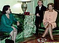 "First Lady Dr. Luisa ""Loi"" Ejercito Estrada is received by Chilean First Lady Marta Larraecha Frei during a meeting.jpg"