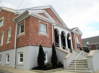 McKenzie, Tennessee - The First Presbyterian Church in McKenzie, September 2014