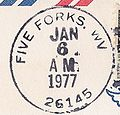 Five Forks West Virginia Postmark.jpg