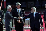 Flickr - Government Press Office (GPO) - PM YITZHAK RABIN AND KING HUSSEIN SHAKING HANDS