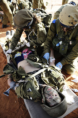 Combat medic - IDF field doctors training in Israel
