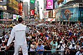 Flickr - Official U.S. Navy Imagery - The U.S. Navy Band Northeast performs in Times Square for thousands of spectators during Fleet Week 2012..jpg