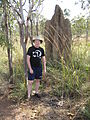 Flickr - brewbooks - Me and Cathedral Termite Mound - Litchfield National Park.jpg