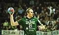 Florian Laudt 1 DKB Handball Bundesliga HSG Wetzlar vs HSV Hamburg 2014-02 08 030.jpg