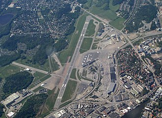 Stockholm Bromma Airport - Aerial view