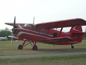 Antonov - Antonov An-2, mass-produced Soviet utility aeroplane.