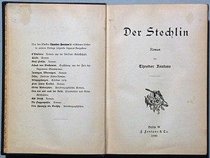 Der Stechlin cover