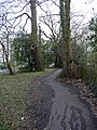 Footpath, Chase Side, London N14 - geograph.org.uk - 1230710.jpg