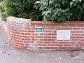 Footpath Marker, Webster Street - geograph.org.uk - 2065752.jpg
