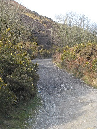 Porthtowan - Image: Footpath leading to Mount Hawke from Tywarnhayle Mine geograph.org.uk 1200063