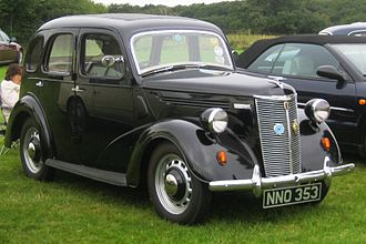 Ford Prefect - 1948 Ford Prefect E93A 4 door Saloon