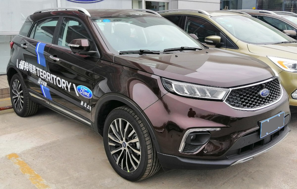 What Is A Crossover Suv >> Ford Territory (China) - Wikipedia