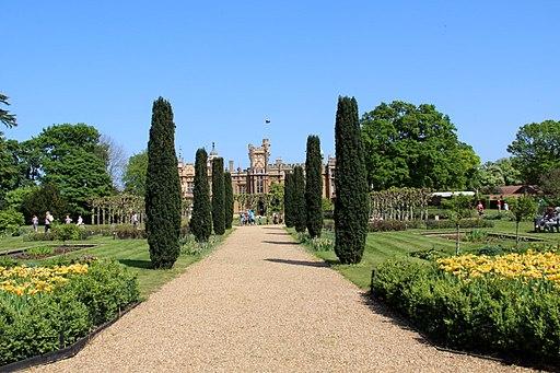 Formal Garden, Knebworth House, Hertfordshire-geograph-2776216-by-Christine-Matthews