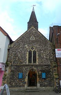 Former St Olave's Church, East Street, Chichester (NHLE Code 1026724).JPG