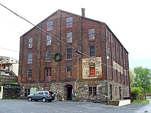 National Register of Historic Places listings in Lancaster County, Pennsylvania - Image: Forry Warehouse Columbia PA