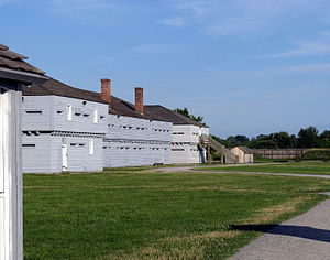 Fort George, Ontario - Image: Fort George NOTL 1