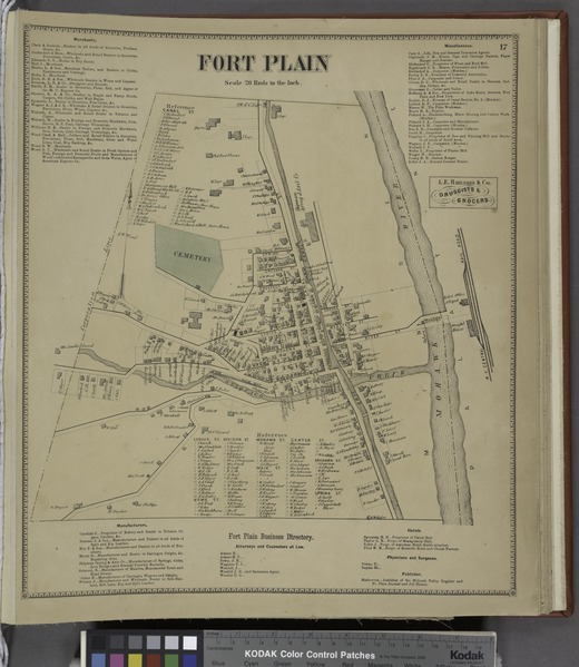 File:Fort Plain (Village); Fort Plain Business Directory. ; NYPL1584224.tiff