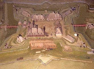 Fort Anne - Model of Fort Anne