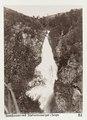 Fotografi av Sivlefossen vid Stalheimsberget. Sogn, Norge - Hallwylska museet - 105710.tif