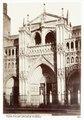 Fotografi av Toledo. Fachada principal de la Catedral - Hallwylska museet - 105179.tif