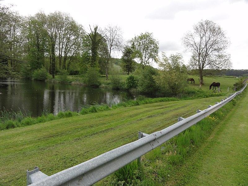 Fourdrain (Aisne) paysage direction Brie