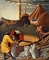 Fra Angelico - The Story of St Nicholas - St Nicholas saves the ship (detail) - WGA00505.jpg