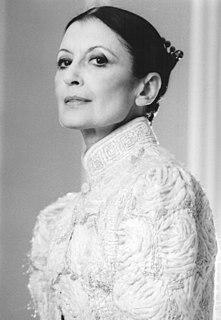 Carla Fracci Italian ballet dancer and actress