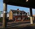Framed house, Gibson Road, SUTTON, Surrey, Greater London - Flickr - tonymonblat.jpg