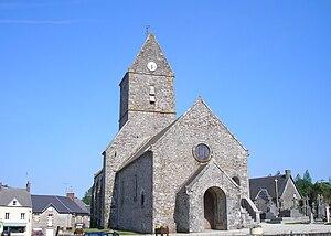 L'église Saint-Germain.