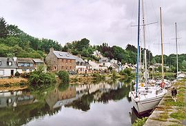 Port on the Trieux River