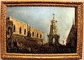 Francesco guardi, il doge di venezia assiste alle feste del giovedì grasso dalla piazzetta, 1775-80 ca..JPG
