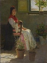 Gypsy and Sunlight (Gitana y Sol)