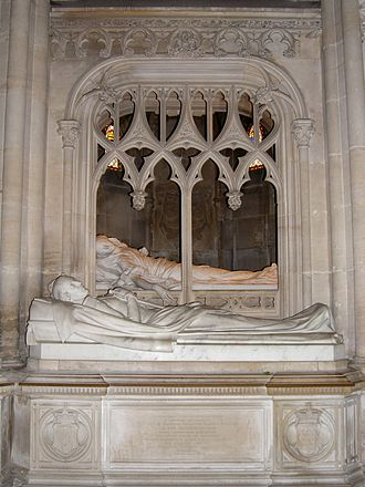 Chapelle royale de Dreux - Monuments to Prince Ferdinand Philippe, Duke of Orléans (1810-1842) and his wife Duchess Helen of Mecklenburg-Schwerin (1814-1858)