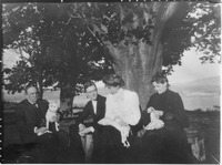 Franklin D. Roosevelt and Eleanor Roosevelt with Sara Delano Roosevelt and Fredrick Hitch in Newburgh, N.Y - NARA - 196965.tif