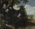 Frans Hals - Portret van een stel in een landschap - Google Art Project.jpg