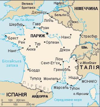 Frantzia Mapa Ukr