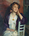 Frederick Vezin Junge Frau mit fliederfarbenem Tuch.jpg