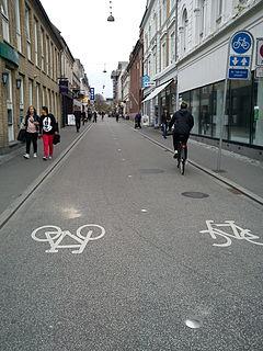 Frederiksgade, Aarhus street in Aarhus Municipality, Denmark