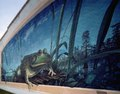 """Frog mural by artist Robert Dafford in Rayne, Louisiana, the """"Frog Capital of the World"""" LCCN2011635369.tif"""