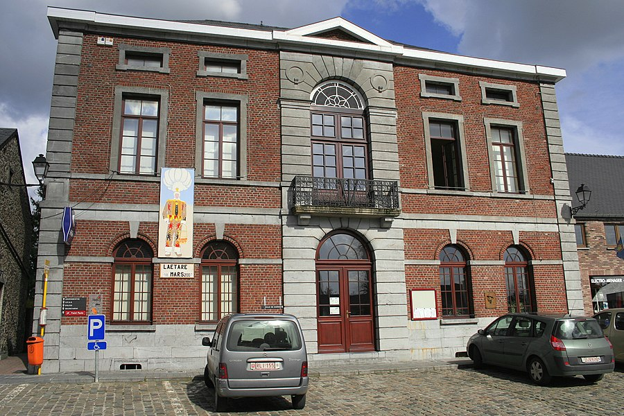Froidchapelle  (Belgium), the town hall.