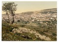 From the east, Nazareth, Holy Land, (i.e., Israel)-LCCN2002725045.tif