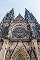 Front of the Metropolitan Cathedral of Saints Vitus, Wenceslaus and Adalbert.jpg