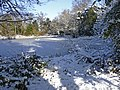 Frozen pond, South Lodge Crescent, Enfield - geograph.org.uk - 1150299.jpg