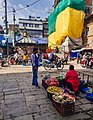 Fruits vendor during COVID 19 pandemic in Ason, Kathmandu.jpg