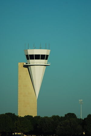 Fort Worth Alliance Airport - The control tower at Alliance.